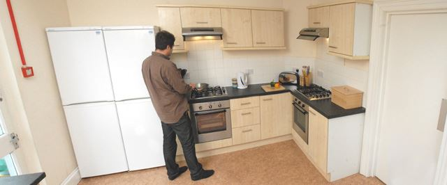 Kitchen at 11 Kingsley Road