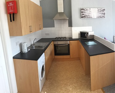 Kitchen in this student flat