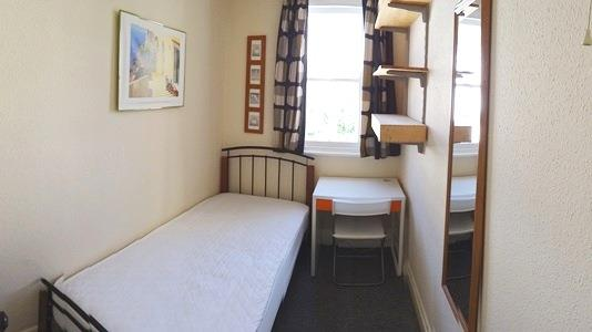 Picture of the single bedroom (room 7)